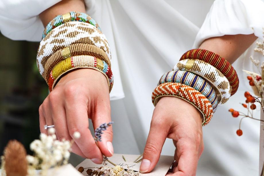 Beaded Bracelets Return to Sender