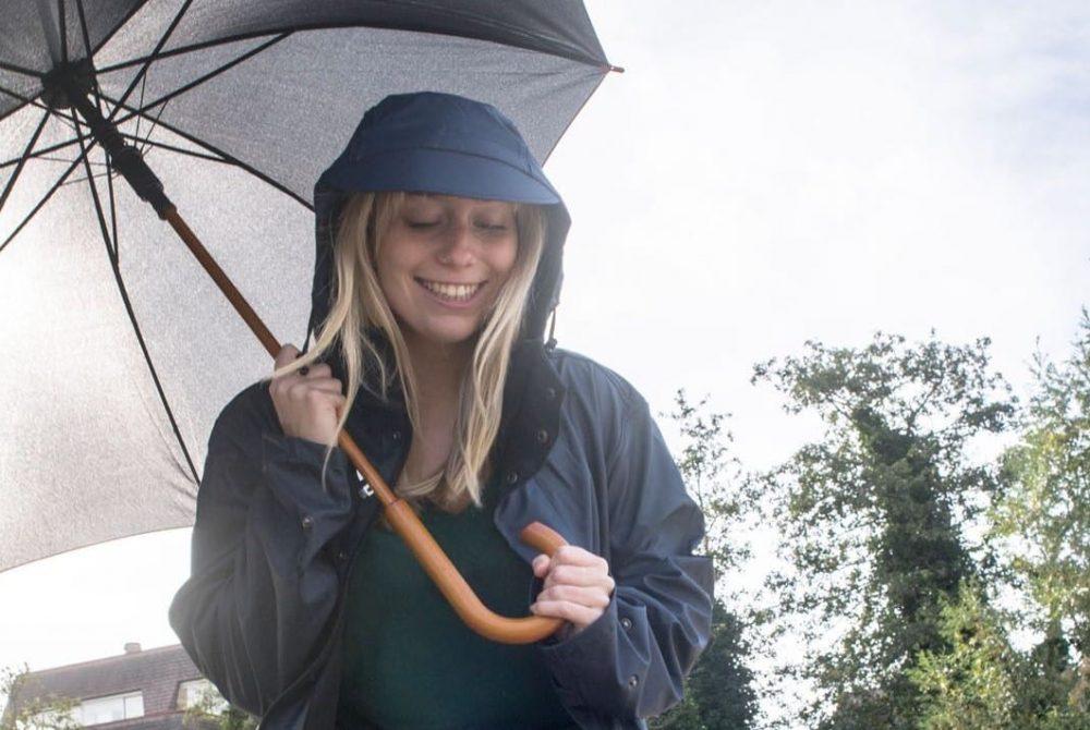 Duurzame paraplu gerecycled ReisWAAR